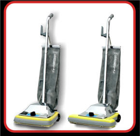 Commercial vacuum cleaners - heavy duty